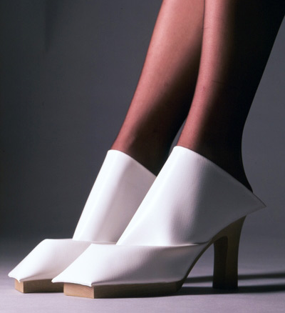 Marloes ten Bhömer White Creative Shoes
