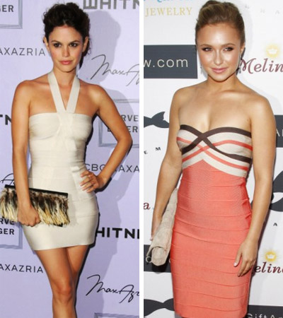 Rachel Bilson and Hayden Panettiere