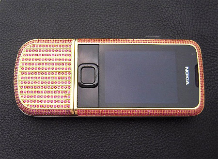 Ruby Encrusted Nokia