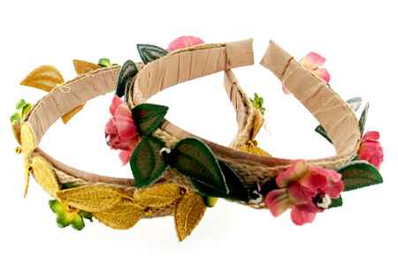 Silk & Jute Headband