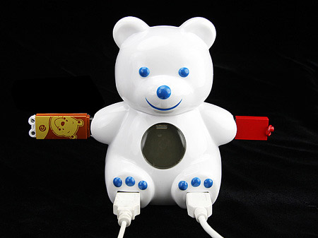 USB Bear 4 Port Hub