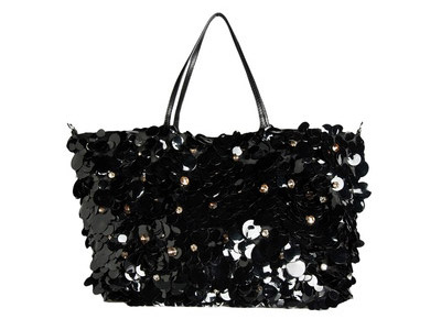 Valentino Black Sparkling Bag