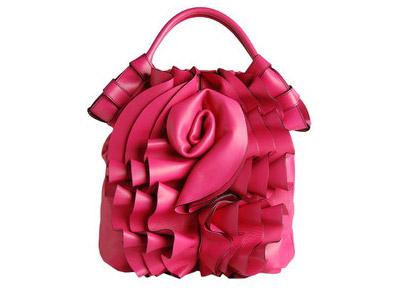 Valentino Pink Rose Handbag