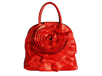 Valentino Red Rose Handbag