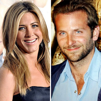 Jennifer Aniston and Bradley Cooper. He answered in his perfect French