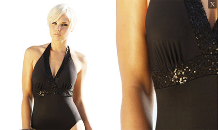 Miraclesuit Black Onepiece Swimsuit