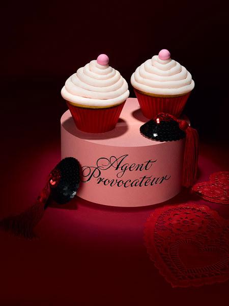 Agent Provocateur Cupcakes