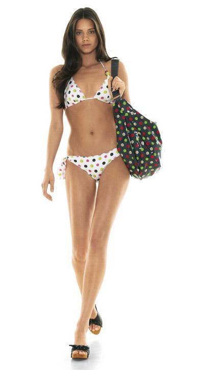 Benetton Dotted Bikini