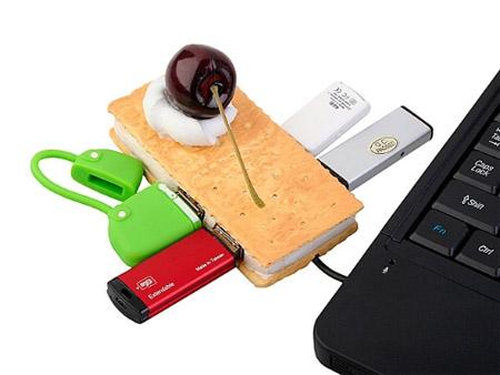 Cherry Biscuit USB Hub