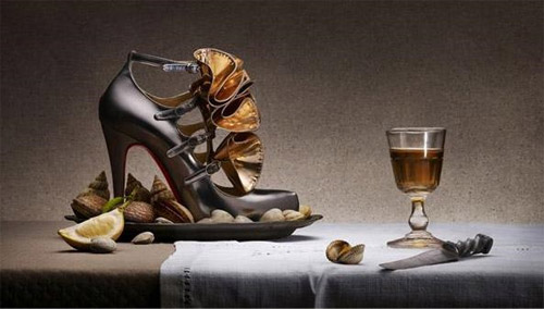 Christian Louboutin Shoe Advertising Campaign