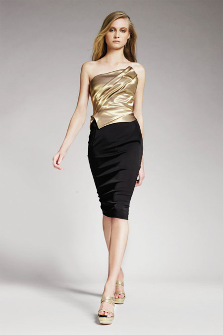 Donna Karan Golden Top