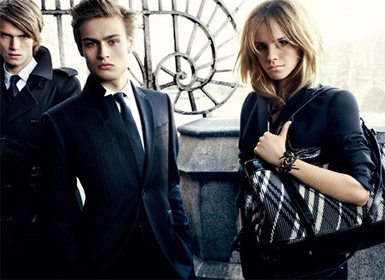 Emma Watson Advertising for Burberry