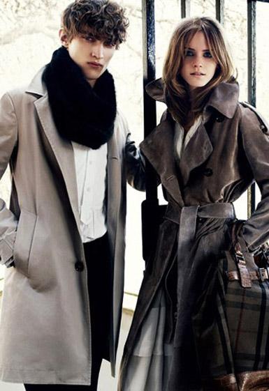 Emma Watson Burberry Ads