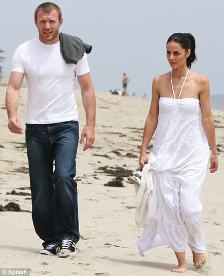 Guy Ritchie and His New Girlfriend