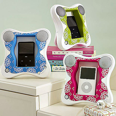 Butterfly iPod Speakers