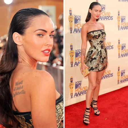 Megan Fox on MTV Movie Awards