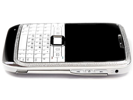 Nokia E71 with Diamonds