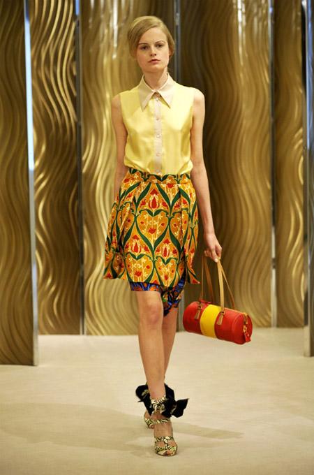 Prada Bright Skirt