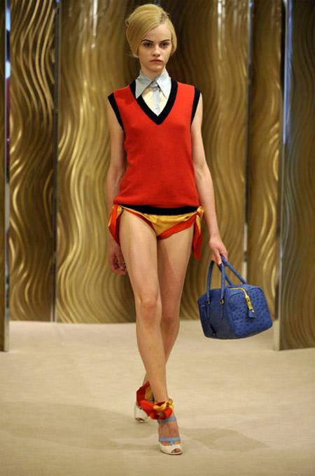 Prada Yellow and Red Bikini