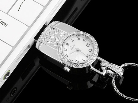 USB Jewel Watch