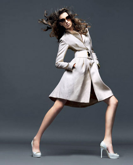 Versace Beige Coat