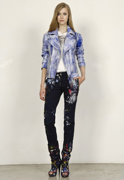 Alexander McQueen Cruise Collection Jeans and Jacket