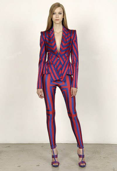 Alexander McQueen Cruise Collection One Tone Jacket and Leggings