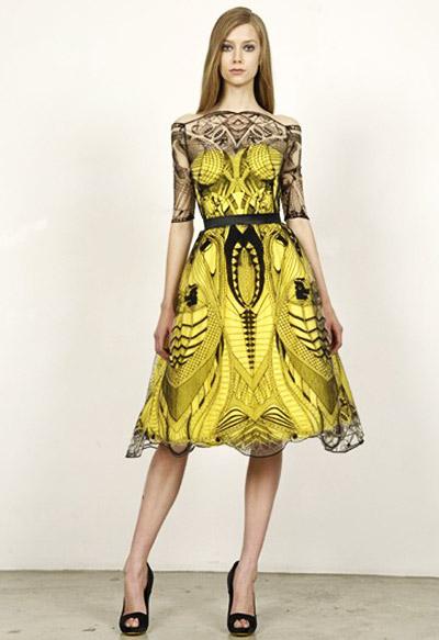 Beautiful Dresses of Alexander McQueen ~ Fashion World
