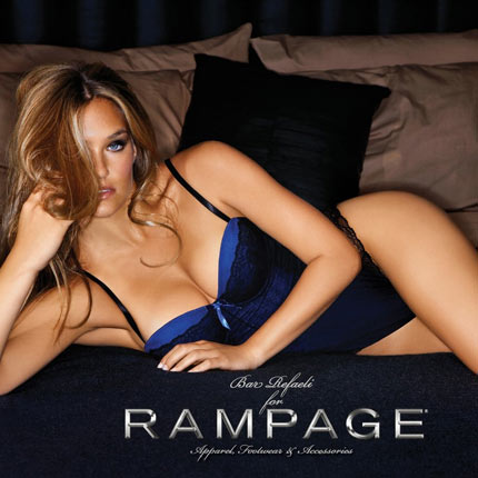 Bar Refaeli for Rampage