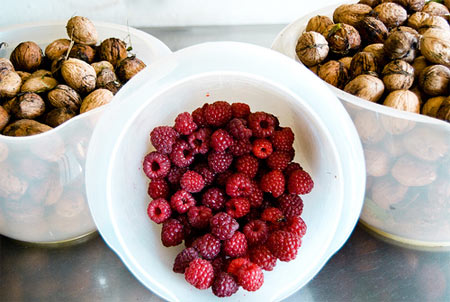 Berries and Nuts