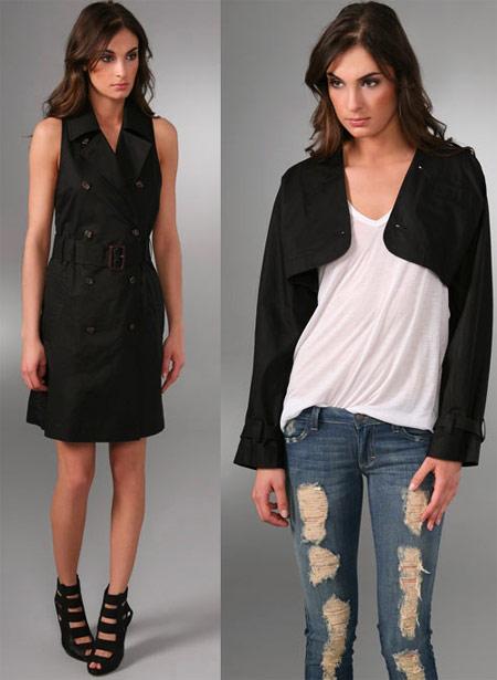 Black Dress and Jacket