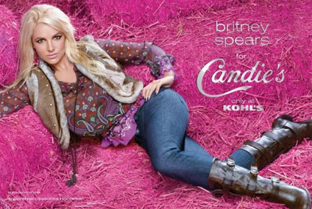 Britney Spears for Candie's Ads