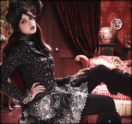 Daisy Lowe for Anna Sui