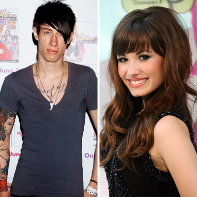 Demi Lovato and Trace Cyrus