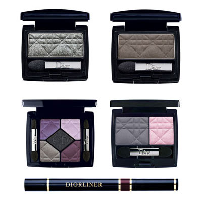 "Dior ""Couleur"" Eye Shadows and Eye Liner"