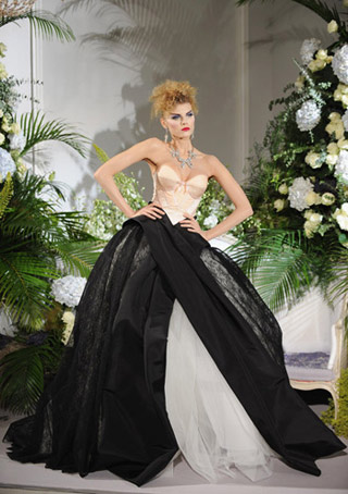 Dior Haute Couture Evening Gown