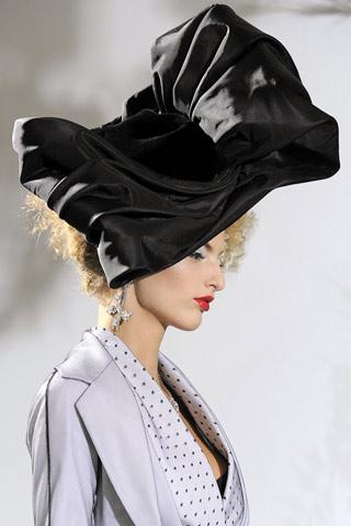Dior Haute Couture Extravagant Hat