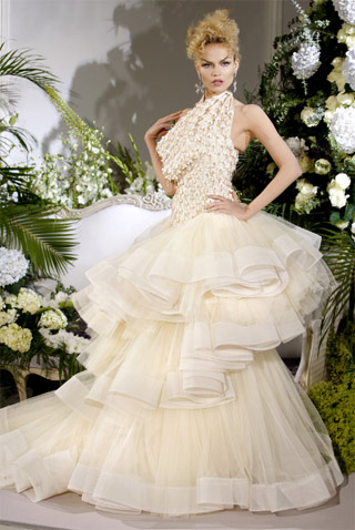 Dior Haute Couture Wedding Dress