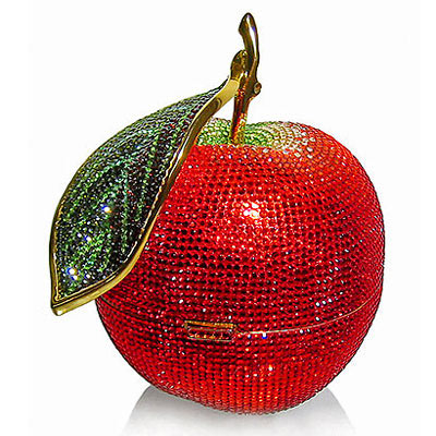 Judith Leiber Red Crystal Apple Bag