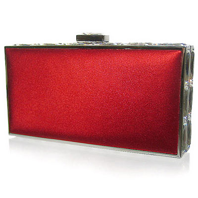 Judith Leiber Red Luxury Clutch