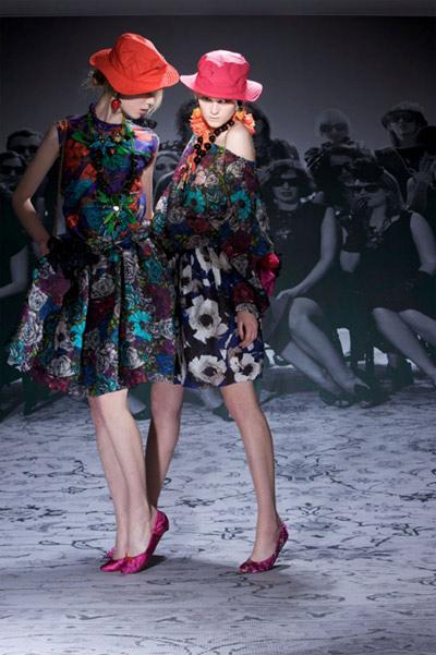 Lanvin Floral Dresses