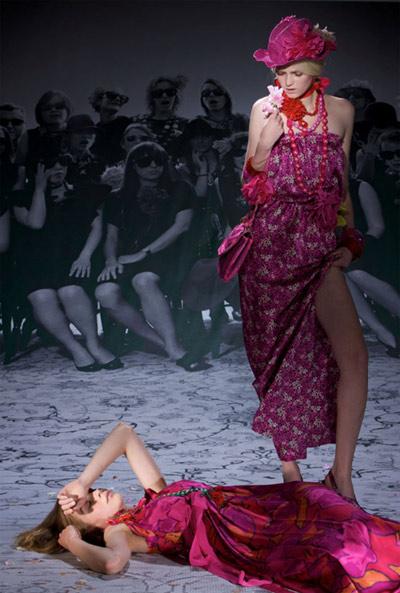 Lanvin Fuchsia Dresses