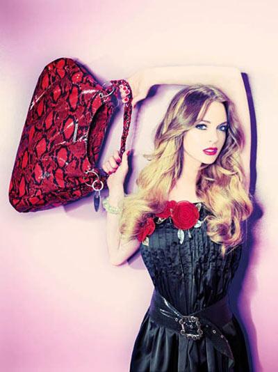 Lindsay Lohan Fornaria Handbag