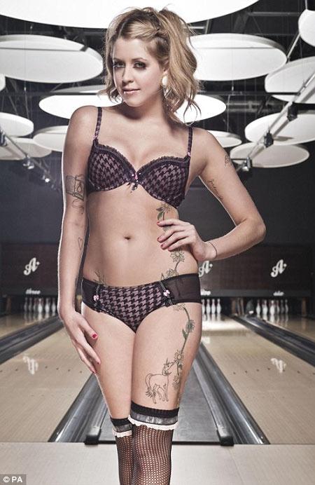 Peaches Geldof Sexy Lingerie Ad