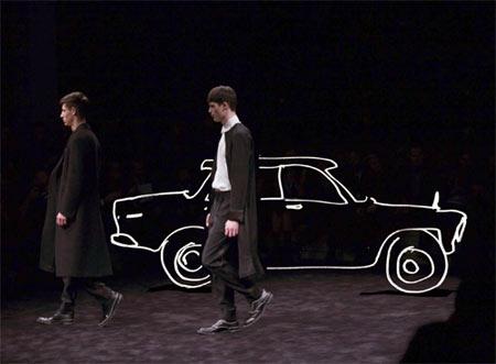 Prada Lookbook - A Car