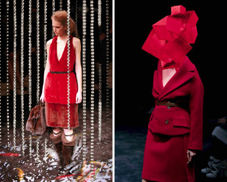 Prada Lookbook -  In Red