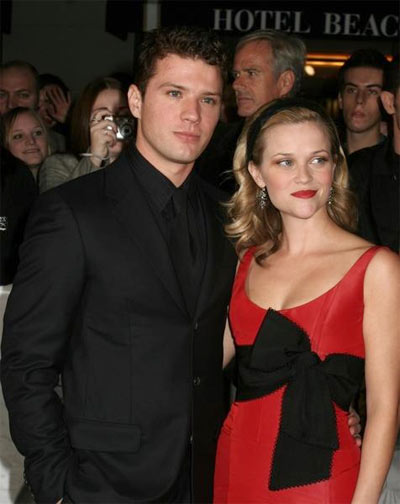 reese witherspoon ryan. Reese Witherspoon and Ryan