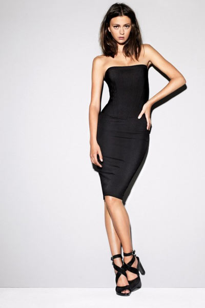 Strenesse Black Pencil Dress