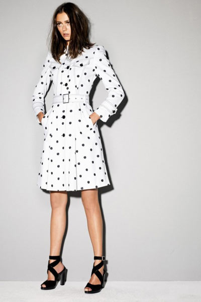 Strenesse Polka-Dot Coat