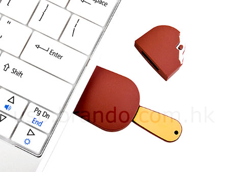 USB Chocolate Popsicle Flash Drive